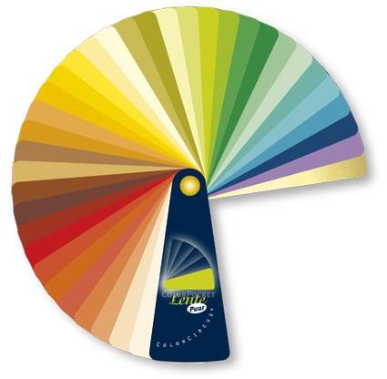 Kleurenwaaier hoe te gebruiken